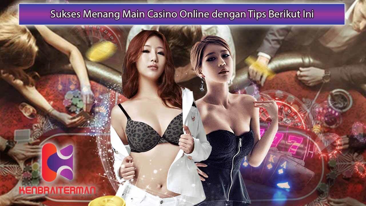Tips Mengurangi Kekalahan Bermain Casino Online
